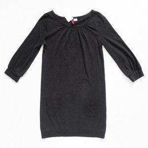 NWT H&M 3/4 Sleeve Black Dress With Pockets 4